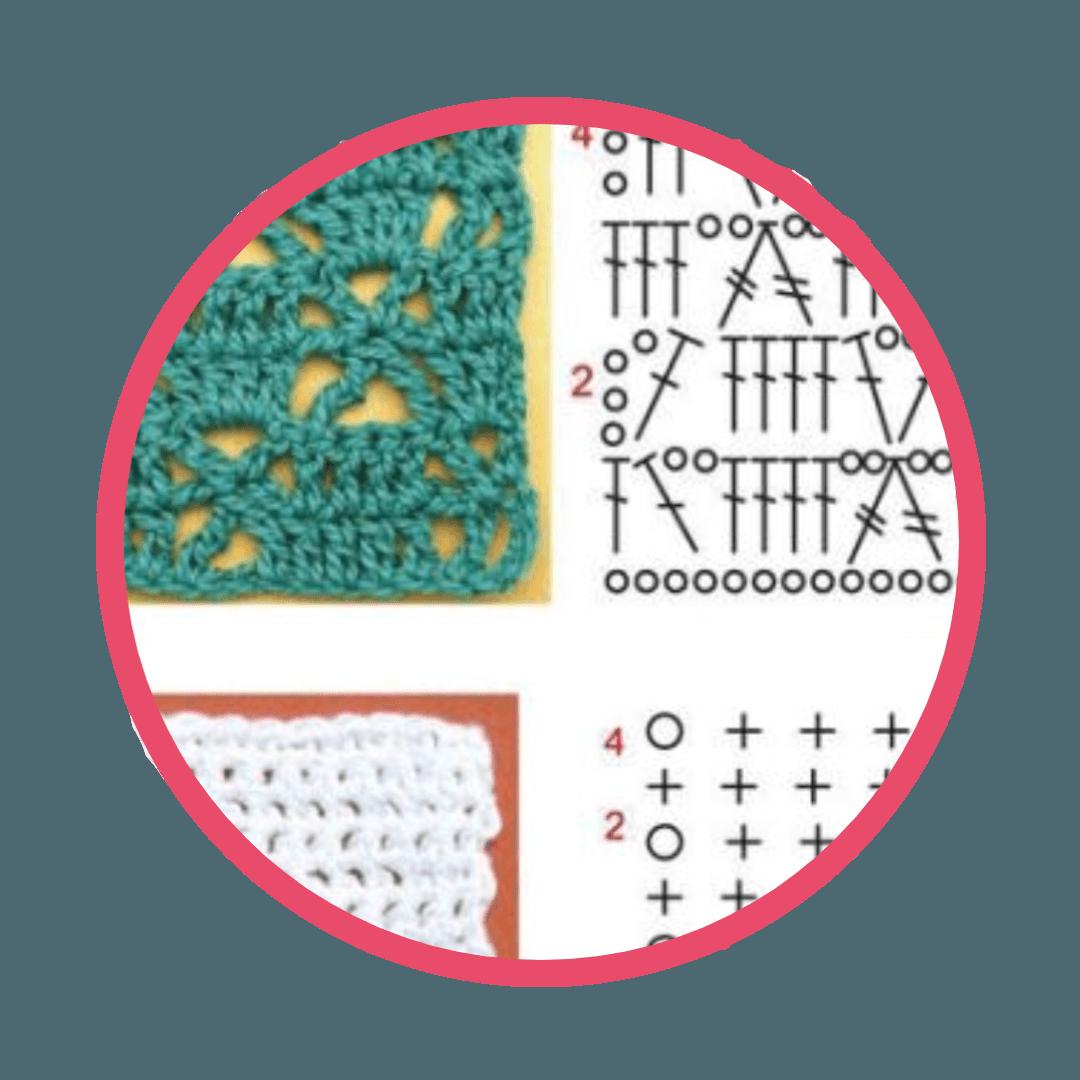 7- Ensinar a ler gráficos - Curso Aprenda Crochê